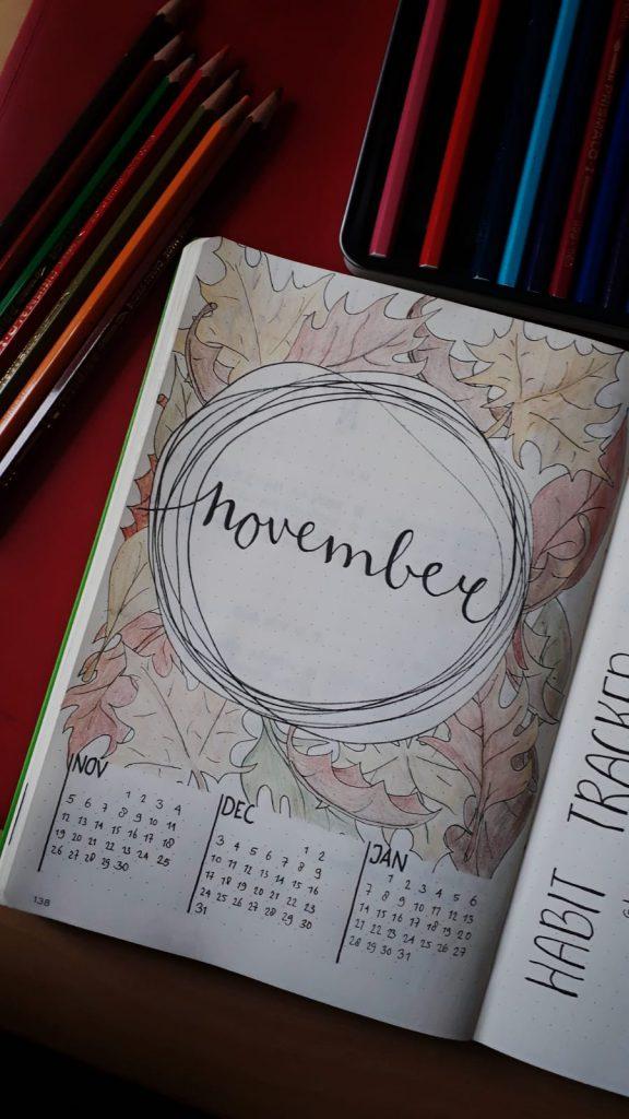 monthly set-up November 2018